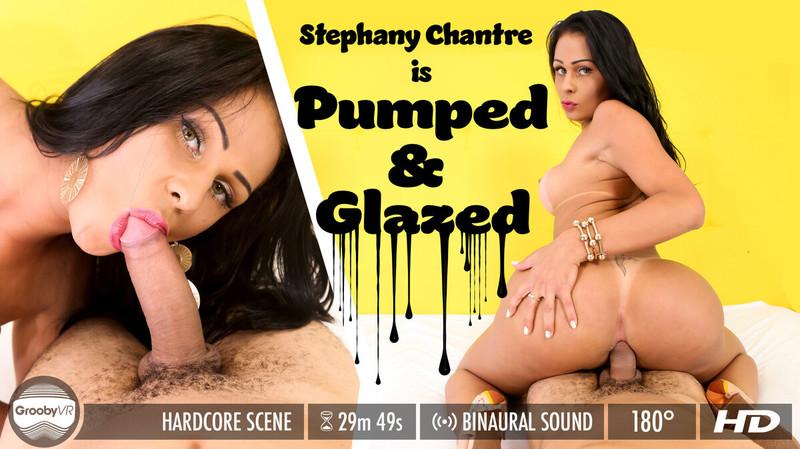 Stephany Chantre In Pumped Amp Glazed Oculus Go 4k