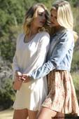 Black Eden & Scarlett Red - Lesbian Blonde Babes  (2021-04-13)