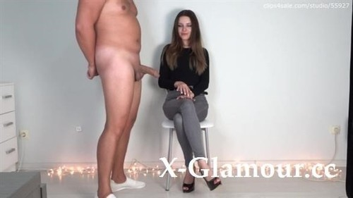 Jerk Off In Front Of Girlfriend And Cumshot On High Heel Cfnm  4 [HD]