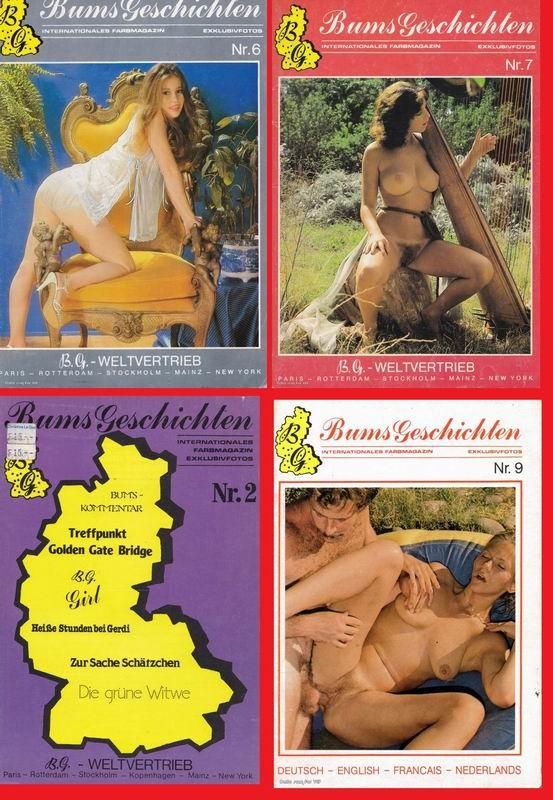 5 Magazines - Bums Geschichten (1970s) JPG