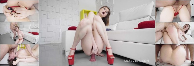 Victoria Wet - Robin's Anal Casting goes Wet, Victoria Wet, Balls Deep Anal, Gapes, Rough Sex and Cum in Mouth (HD)