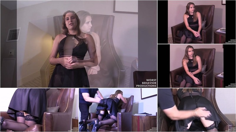 Reyna - Reyna Punished By The Professor - Spanked And Paddled [HD 720p]