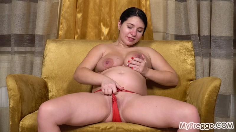 MyPreggo - Tanya - Another Incredible Striptease From Pregnan Tanya! [FullHD 1080p]