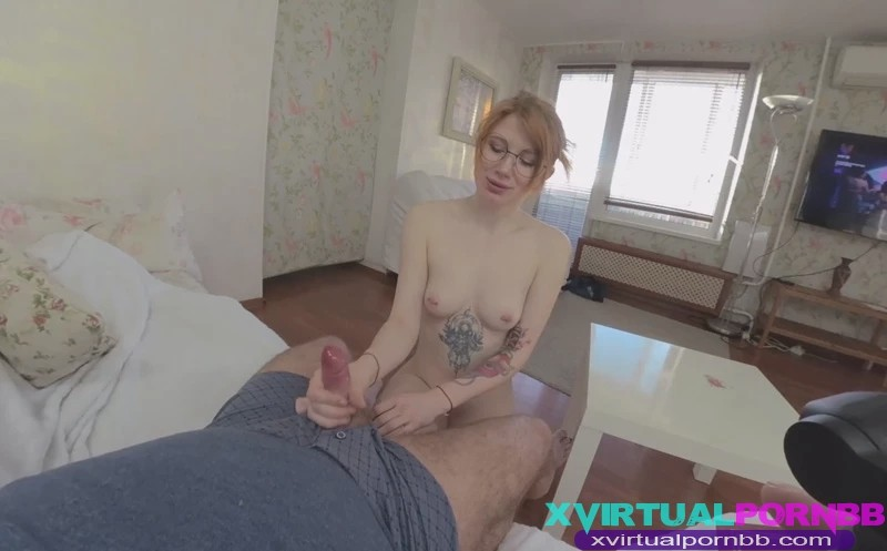 Hot Young Milinda Does Blowjob For Stepfather Oculus 6k