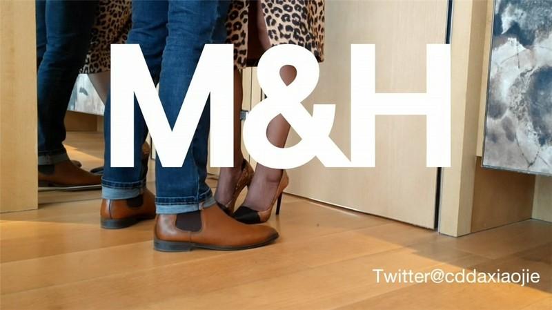 【極品推薦】極品身材推特女神『大小姐』M&H輕奢家具與粉絲當眾激戰 高難度姿勢 爆裂黑絲高跟激操 高清720P原版