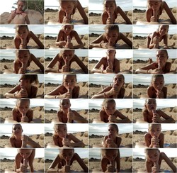 Cumin4D - Sexy blonde girl sucks my dick and gets an oral creampie at the beach PUBLIC BLOWJOB: FullHD 1080p - 577 MB (OnlyFans)