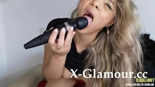 """Isabellamout in """"Isabellamout Reads You A Poem And Enjoys Herself Playing With Her Tight Pussy - Hitachi Fun"""" [HD]"""