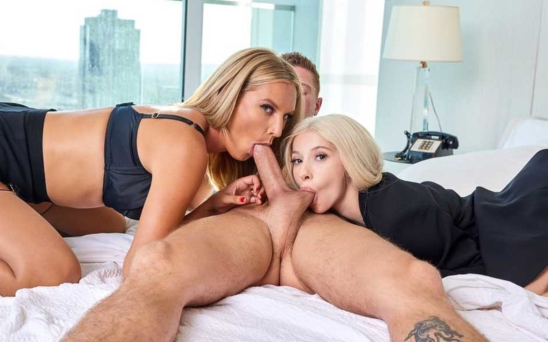 Mona Wales, Kenzie Reeves - So Worth The Trouble [FullHD 1080P]