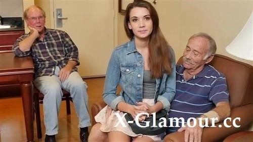 Amateurs - Grandpapas Share Their Teen [FullHD/1080p]