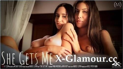 Anya Krey, Mina Moreno - She Gets Me [FullHD/1080p]