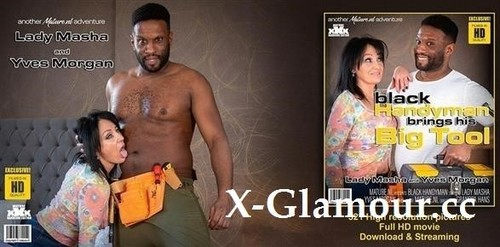 Lady Masha - This Cougar Only Wants His Big Black Tool (2020/FullHD)