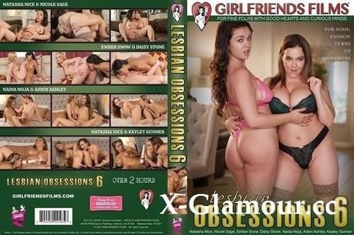 Natasha Nice, Nicole Sage, Kayley Gunner, Ember Snow, Daisy Stone, Nadia Noja, Aiden Ashley - Lesbian Obsessions 6 (SD)