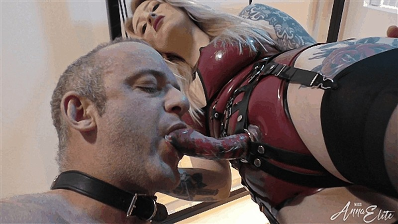 Mistress Anna Elite - Sodomising The Slut [FullHD 1080P]