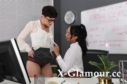"Olive Glass, Alexis Tae in ""His Wifes Secret Lez Affair 02"" [FullHD]"