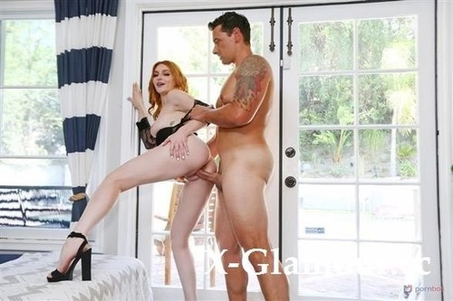 """Lacey Lenon in """"Horny Redhead Milf Lacey Lenon Takes Revenge On Ex By Fucking The Pool Cleaner Gp2066"""" [SD]"""